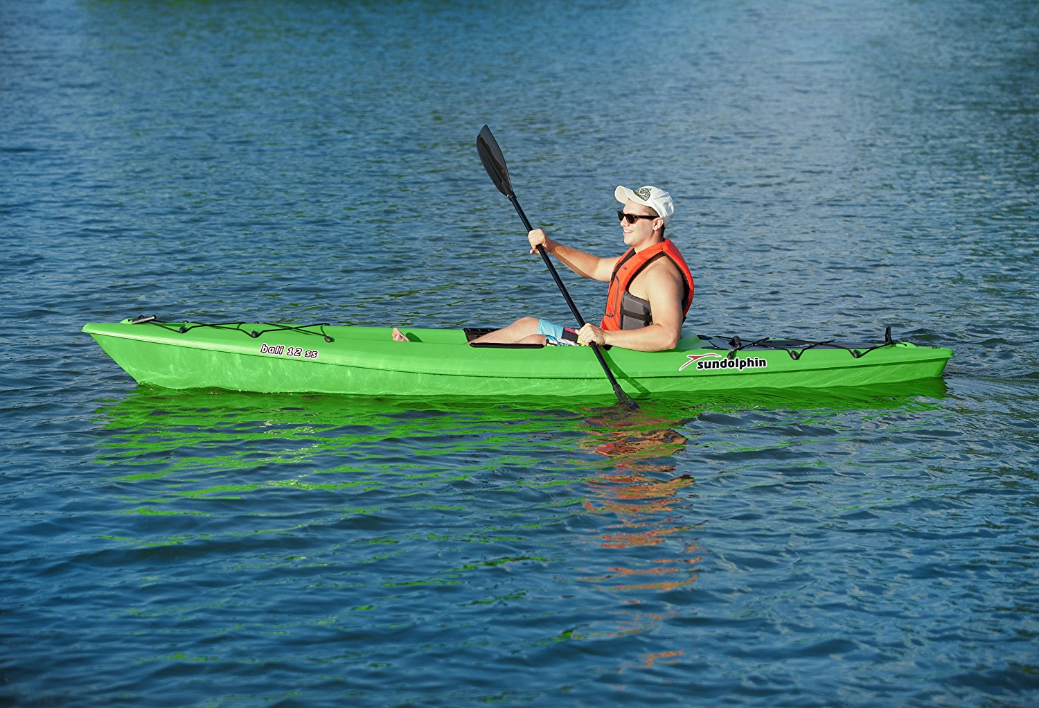 Sun Dolphin Bali SS 12-Foot Sit-on top Kayak Review 4