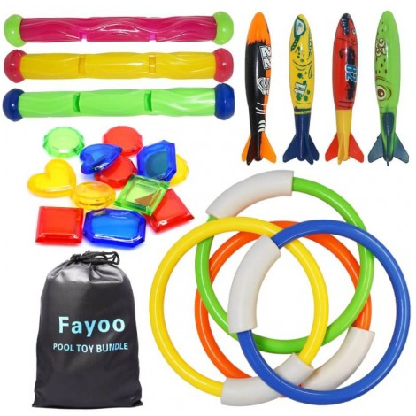 Fayoo 23 Piece Toy Pack