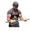 Cannon Curl + Fit Grips - Arm Blaster Support