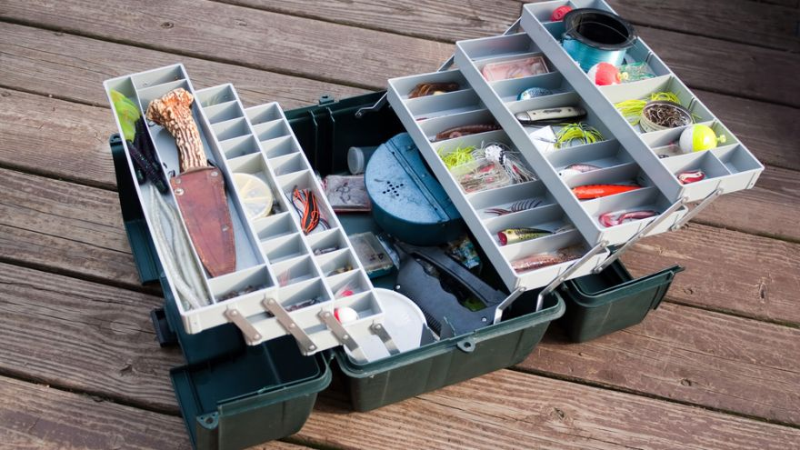 5 tackle box must-haves for your next fishing trip!