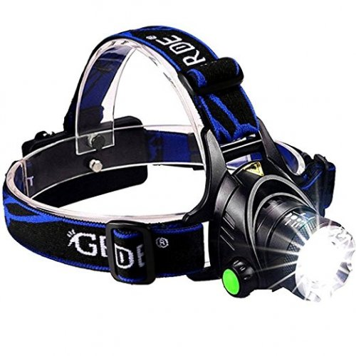 GRDE Zoomable Super Bright Headlamp