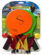 Jazzminton Deluxe LED 3 in 1 Paddle Ball Game