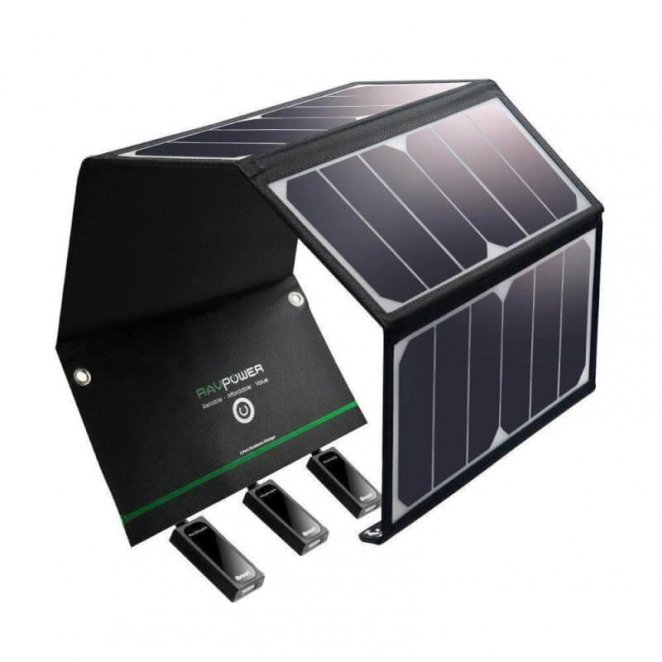 RavPower 16W Solar Phone Charger