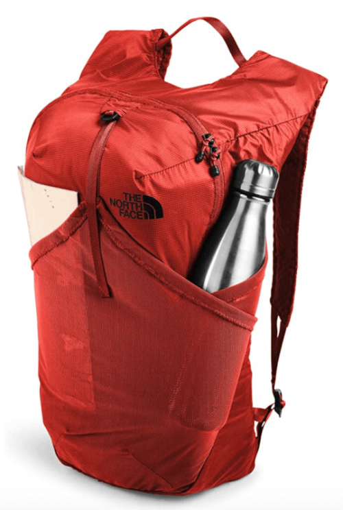 The North Face Flyweight bag detail