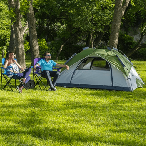 MOON LENCE Pop Up Tent Family Camping Tent 4 Person Tent 2