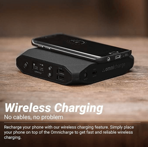 Omnicharge AC/DC Portable Power Bank - Omni 20 – Battery Pack for Laptops
