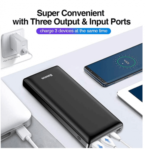 USB C Fast Battery Pack Charger
