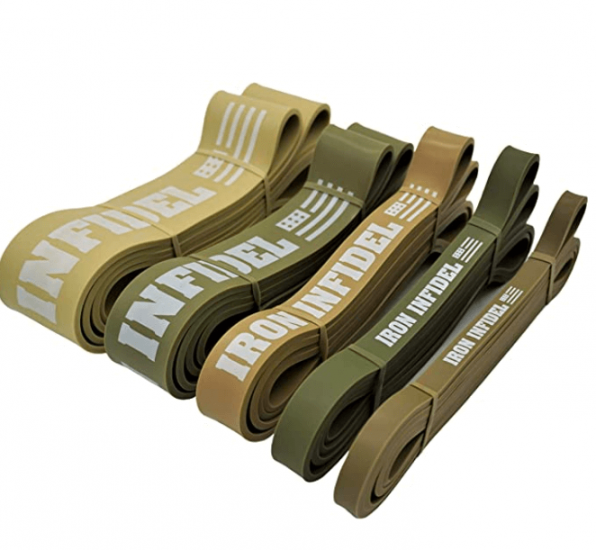 Iron Infidel Pull Up Assistance Bands for Working Out