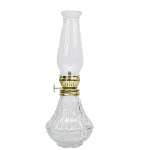 Glo Brite by 21st Century L808CL Daylite Clear Glass Oil Lamp