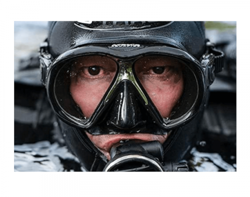 Atomic Sub Frame w/ARC Technology Mask for Scuba Diving