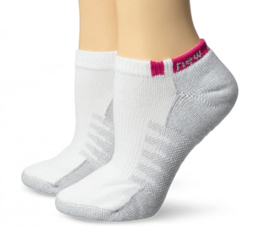 New Balance Unisex 2 Pack No Show with Coolmax Socks