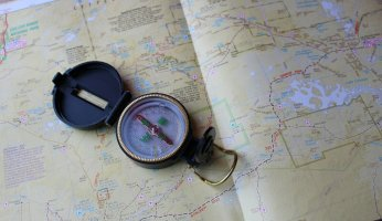 How to Correctly Use a Compass