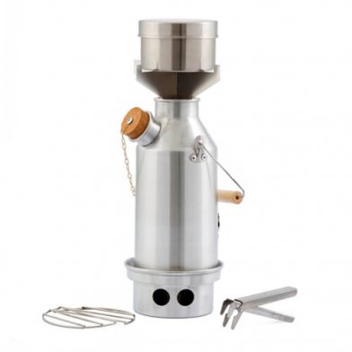 Kelly Kettle - Stainless Steel Base Camp Kit