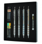 Pentel Arts GraphGear 1000 Premium Gift Set with Refill Leads & Erasers